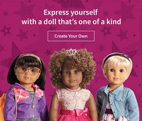 design a doll of yourself truly me dolls american girl