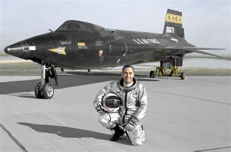 North American X-15 aircraft operated by the USAF and NASA ... X 15 Cockpit