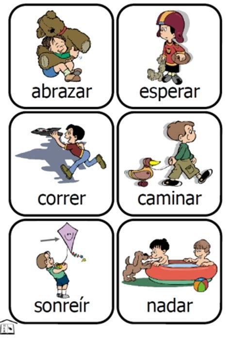 free printable spanish flashcards for toddlers verb flashcards printable driverlayer search engine