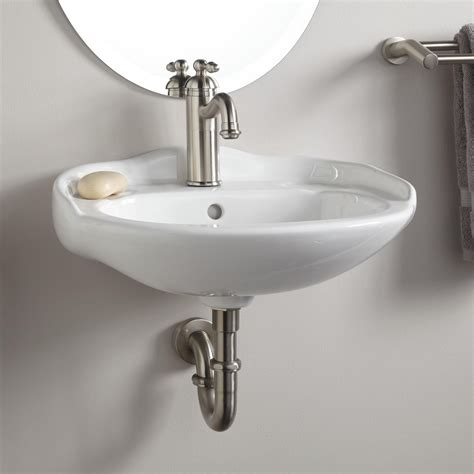 small wall mounted bathroom sink round white small wall mounted bathroom sink in the corner