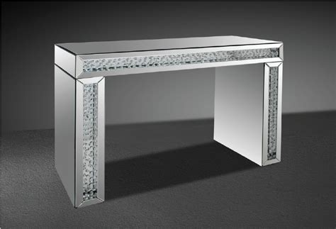 Mirrored Console Table Next Mirrored Console Table Next Glimmer Transitonal Mirrored Console Table With Artificial