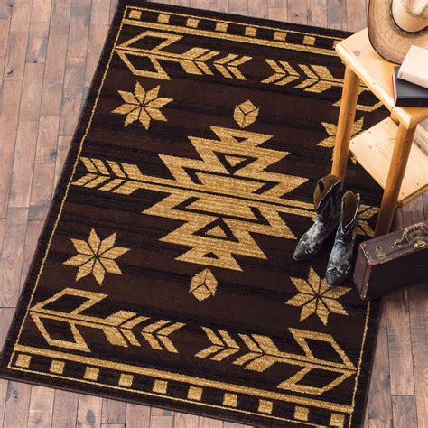 arrow rug desert arrow brown rug 2 x 3
