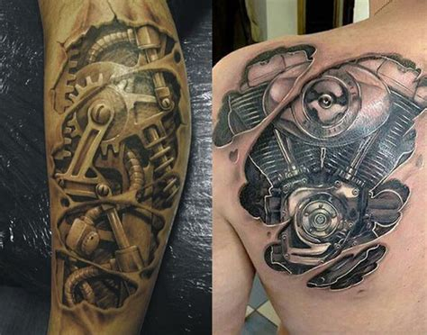imagenes de tattoos increibles tatuajes biomec 225 nicos con increibles efectos 3d mujeres y
