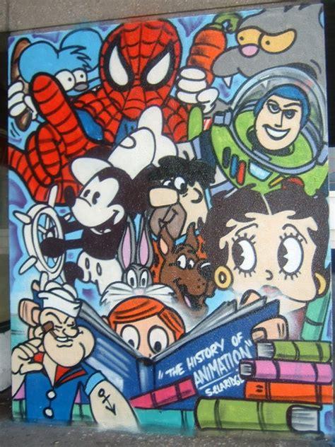 cartoon graffiti wallpaper graffiti cartoons best graffitianz