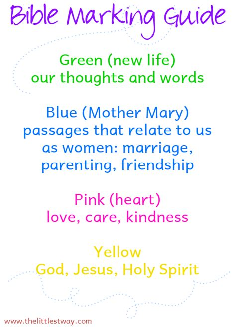 new year color coding bible journaling in the new year the littlest way