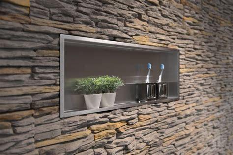 wall niche easy drain