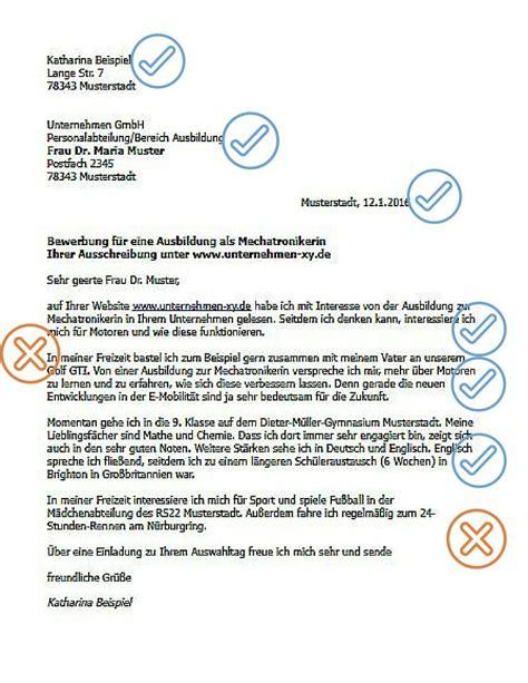 Bewerbungsanschreiben Ferienjob Daimler Bewerbungsschreiben Ausbildung Karriereletter