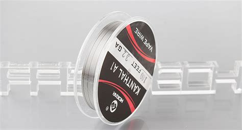 Hcigar Kanthal Wire 1meter 4 54 authentic hcigar kanthal a1 vape heating wire for rba atomizers 32 awg 0 2mm 30m
