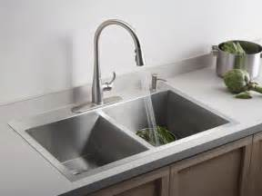 Faucets For Kitchen Sinks Sink Faucet Design Kohler Collection Kitchen Sinks Bowl From Stainless Steel