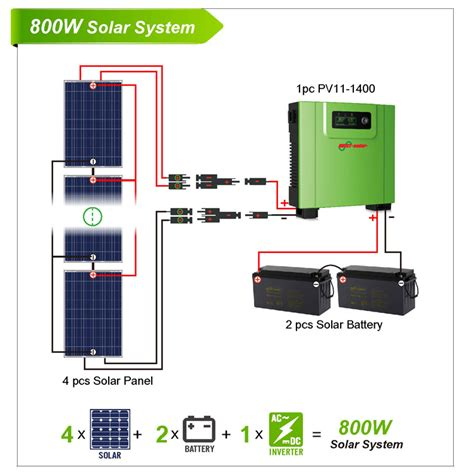 home solar inverter solar power system 800w solar power home system solar power inverter solar energy system dc to
