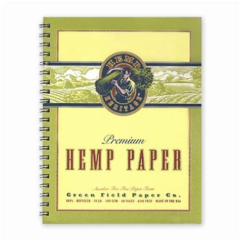 How To Make Paper Out Of Hemp - hemp heritage 174 sketch and drawing book