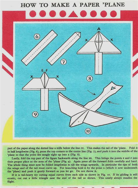 How To Make A Paper Airplane Glider - rupert origami