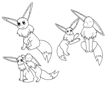 Free Coloring Pages Of Pokemon Eevee Evolutions Eevee Evolutions Coloring Pages