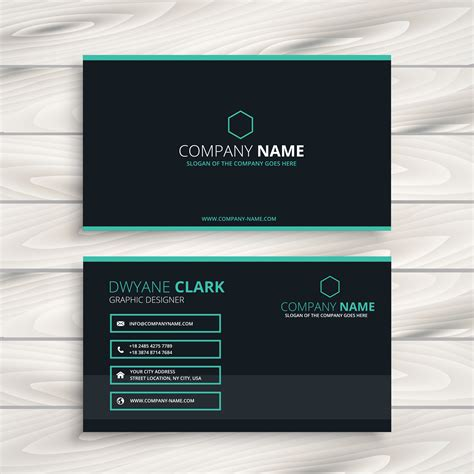 Business Card Appointment Clean Template Design Illustrator by Clean Business Card Template Vector Design