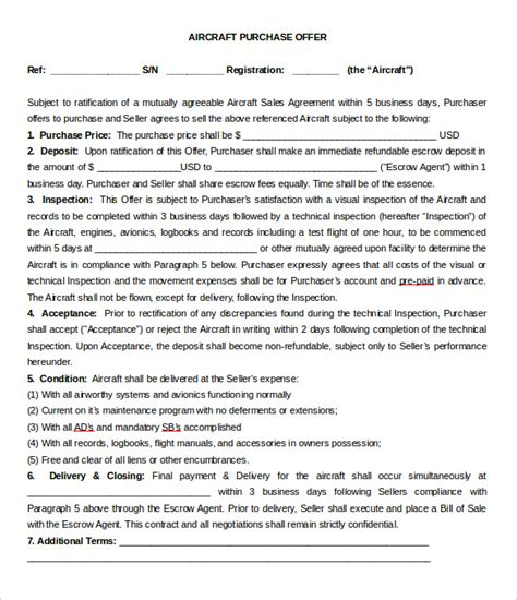 purchase letter of intent 10 free word pdf format