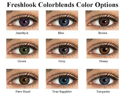 beautiful contact lenses: acuvue 2 colors vs freshlook?