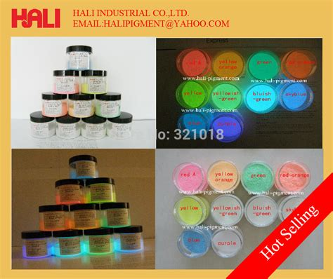 glow in the pigment powder suppliers aliexpress buy lipstick pigment resin fluorescent