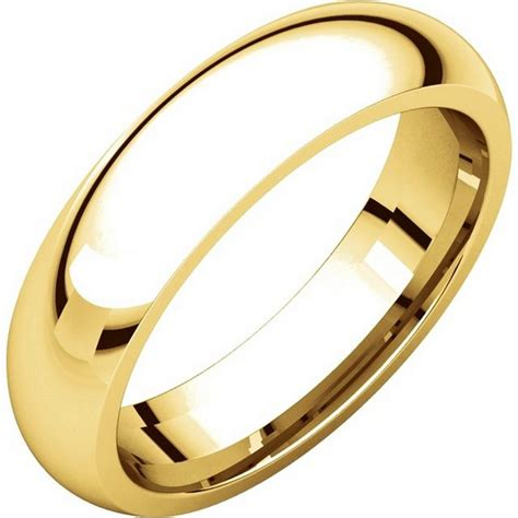 Comfort Wedding Bands by Xh123815 14k Gold 5mm Heavy Comfort Fit Wedding Band
