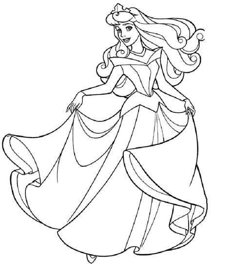 Coloring Pages Of Princesses by Princess Coloring Pages Learn To Coloring