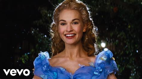 cinderella child actress lily james a dream is a wish your heart makes from