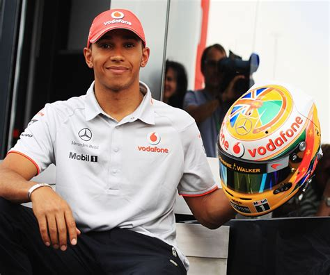 lewis hamilton shows off new lewis hamilton shows his new helmet design for the
