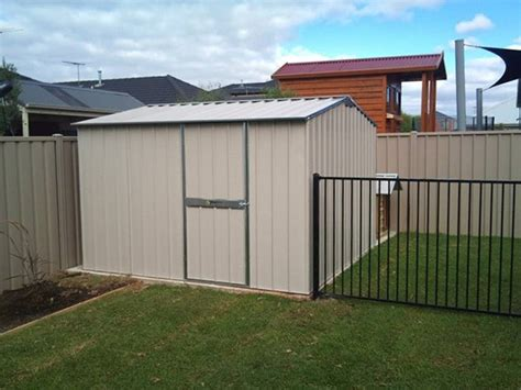 Steel Sheds Australia by Garden Shed Melbourne Steel Shed Custom Workshop Sheds