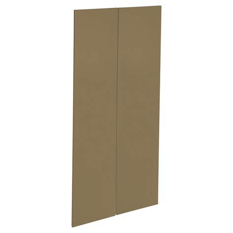 Modern Pantry Doors by Kaboodle 900mm Golden Treacle Modern Pantry Door 2 Pack