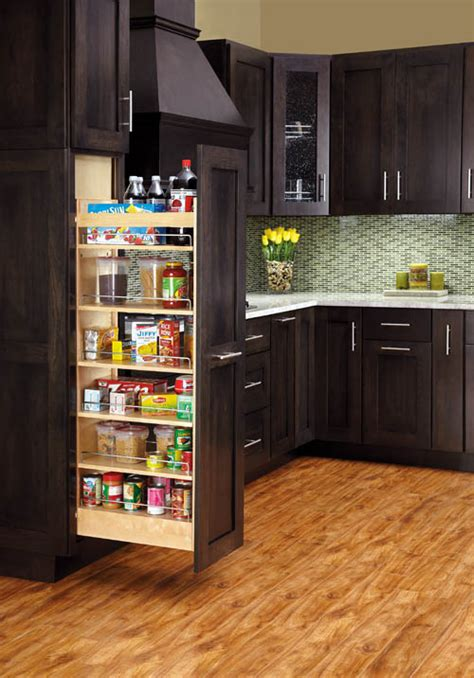 Rev A Shelf Pantry Pull Out bells and whistles inserts to make your kitchen