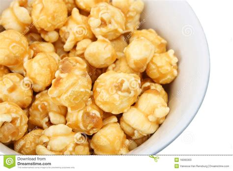 caramel popcorn stock image image of ceramic sweet