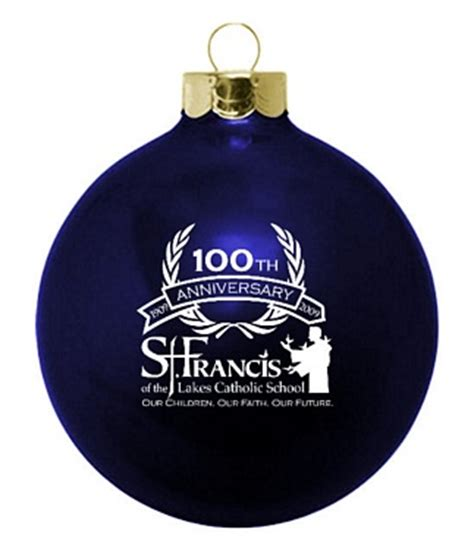 catholic school anniversary ornaments