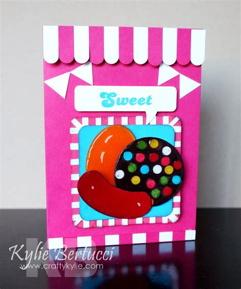 Candy Crush Gift Card - kylie bertucci independent demonstrator australia crazy crafters march blog hop