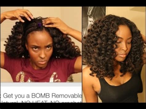 hairstyles for black women no heat tutorial no crochet braids needed get you a bomb