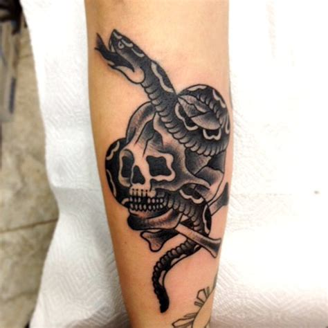 tip top traditional black and grey tattoos