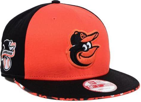 orioles colors new era baltimore orioles cross colors snapback cap in