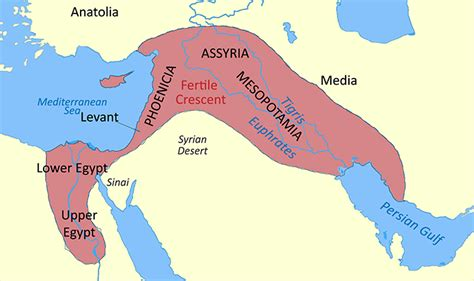 middle east map fertile crescent history of lebanese food manoosh pizzeria enmore