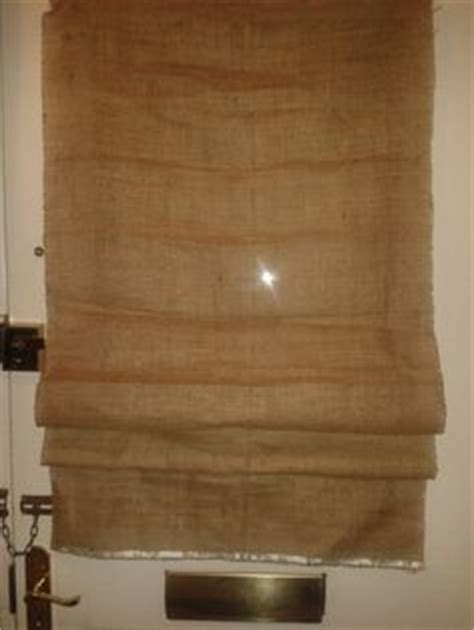 zig zag pattern roller blind details about made to measure thermal light brown hessian