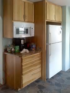 Microwave In Kitchen Cabinet Kitchens Remodeled Spokane Contractor