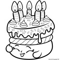 shopkins coloring pages free cake wishes from shopkins coloring pages printable