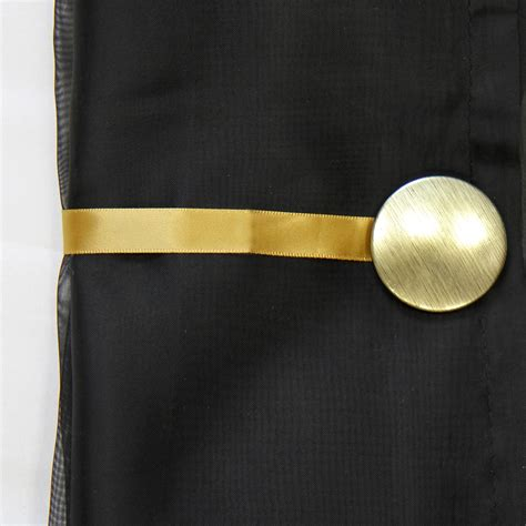 Magnetic Tie Backs For Curtains Magnetic Curtain Tie Back Circle Holdback For Voile Nets Curtains Ebay