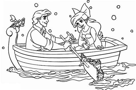 Mermaid Ariel Outline by Disney Princess Coloring Pages Bestofcoloring