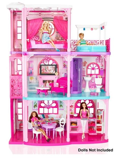 barbie doll house videos barbie 3 story dream townhouse for 132 90 the frugal free gal