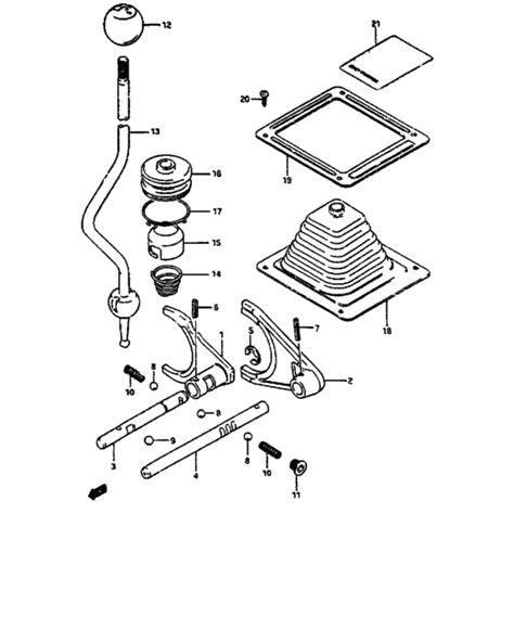 Suzuki Samurai Transfer Diagram Transfer Gear Shifting For Suzuki Samurai Sj413p 0 Year