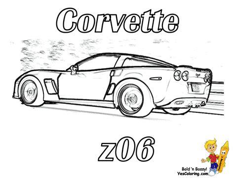 coloring pages corvette cars gusto car coloring pages porsche corvette free