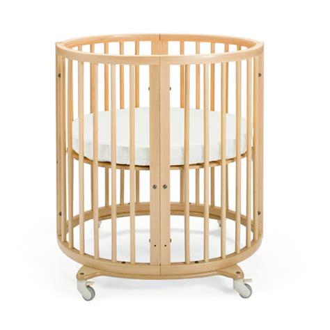 crib drape rod canopy co stokke sleepi crib with mattress and drape rod