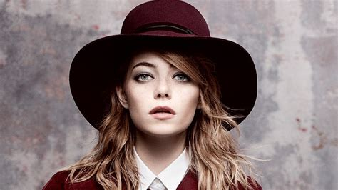 Rose In Glass by Emma Stone Funny Fashionable 4 New Films Vogue Vogue