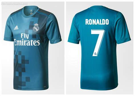 Jersey Go 3rd Real Madrid 2017 2018 1 real madrid 2017 18 adidas third kit football fashion org