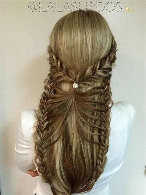 Fancy Hairstyles by 50 Half Up Half Hairstyles For Everyday And Looks