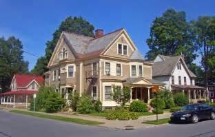 House Image File Houses At Regent And Caroline Streets Saratoga