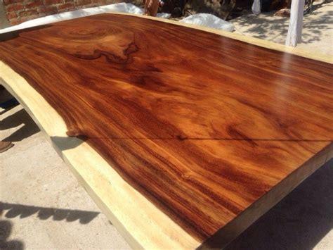 mesa de comedor tronco de madera de parota rebanada  en mercado libre