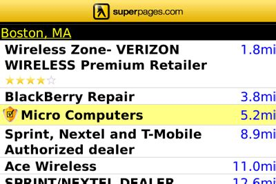 Superpages Search Free Blackberry Downloads Five Can T Miss Smartphone Apps Cio